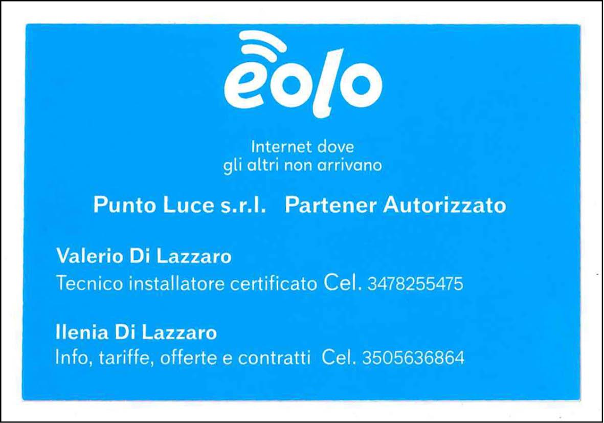 Sito web EOLO